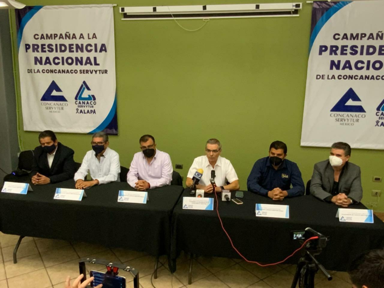 Gobierno Federal no debe meterse en las actividades de negocios: Candidato a Concanaco