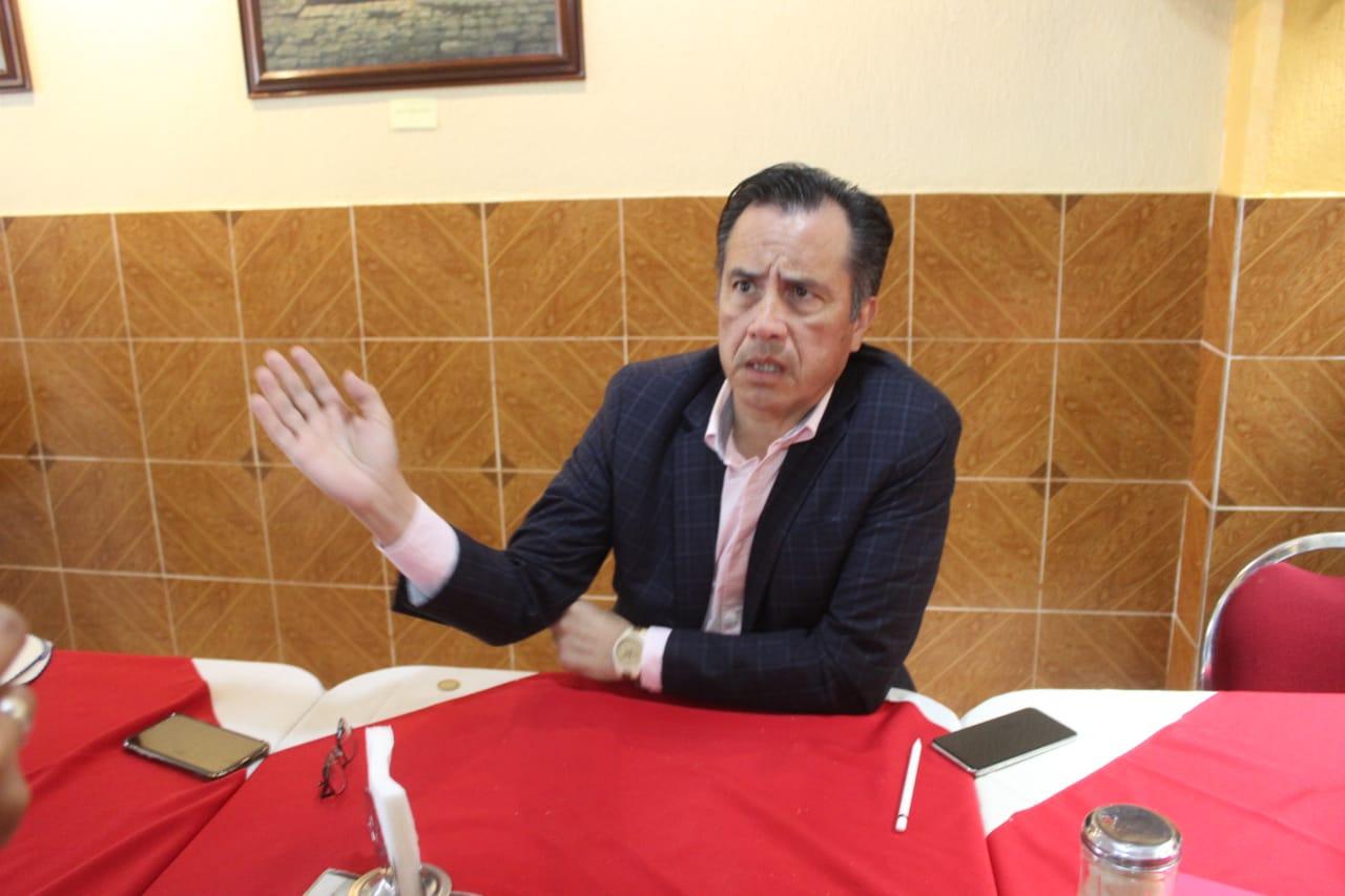 Se roban el gas LP de los ductos, no representa gran problema en Veracruz: Gobernador