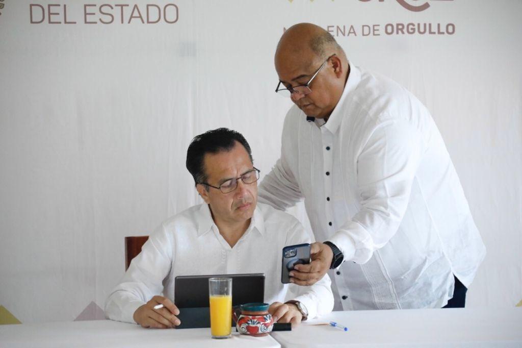 Gobierno de Veracruz apoya al sector ganadero con la construcción de 590 ollas de agua: Eric Cisneros