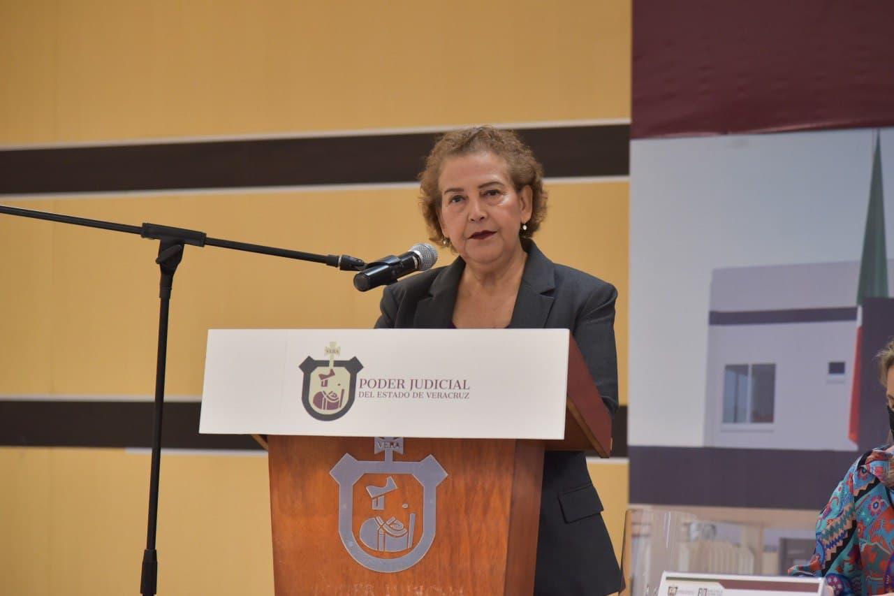 No es momento de repartir culpas, define presidenta del TSJ por cierre de juzgados