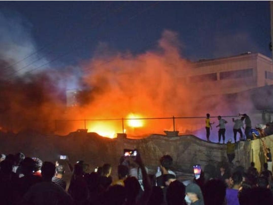 Al menos 90 muertos deja explosión e incendio en Hospital Covid