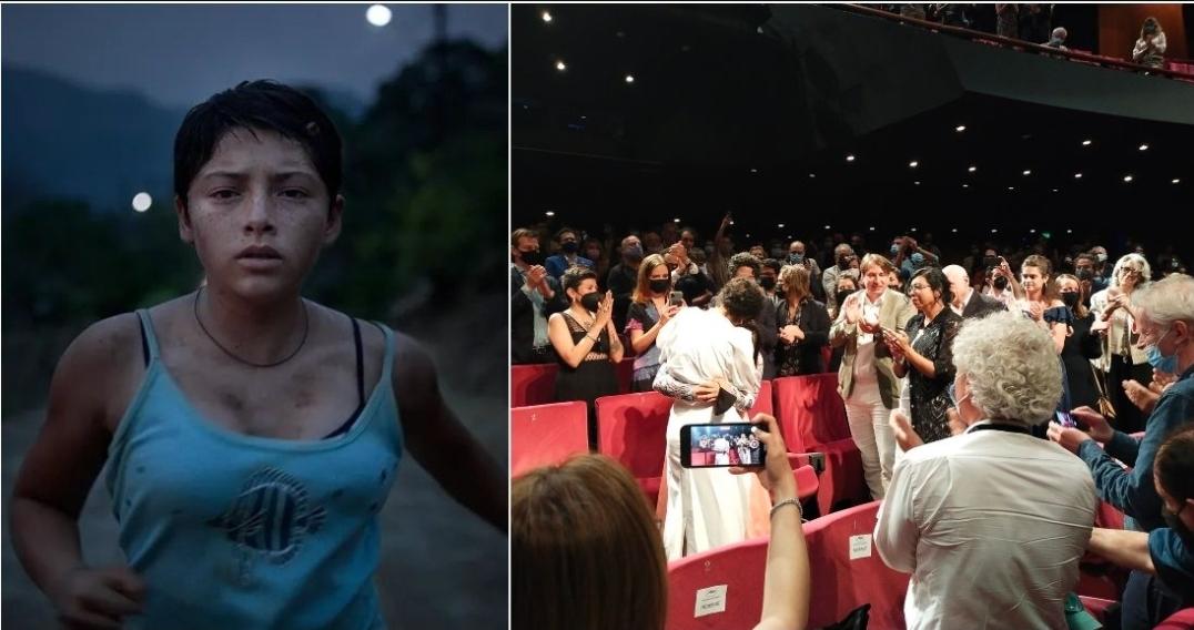 Tatiana Huezo recibe ovación de 10 minutos en Cannes por Noche de Fuego