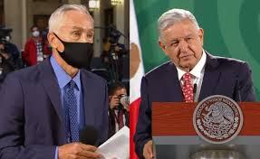 Cuestiona Jorge Ramos a AMLO, no hay resultados dice el periodista.