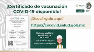 Así puedes obtener tu certificado de vacunación contra el Covid